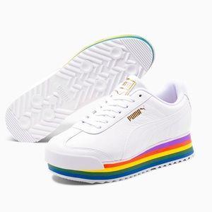🌈 Puma Roma Amor Rainbow 🌈  Platform Sneaker